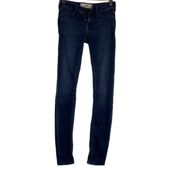Hollister Denim - Hollister denim skinny super soft jeans
